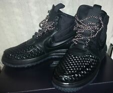 Men's Black Nike Winter Trainers LunarForce1(AirForce LF1) Duckboot '17 UK8