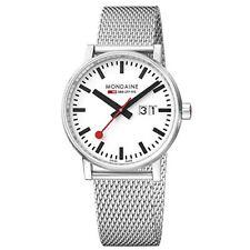 Reloj Watch Mondaine Evo2 Big Date Swiss Railways Mse.30210.sm Women 30mm