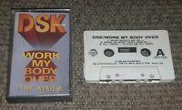 DSK Work My Body Over THE ALBUM cassette tape VINTAGE PRINTING HTCT-3325 TECHNO
