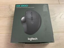 Logitech MX Ergo Bluetooth or USB Dongle Wireless Trackball Mouse Rechargeable