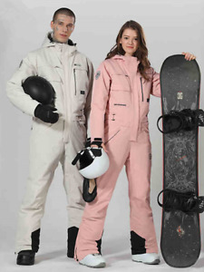 Ski Suit Women One-piece Ski Jacket Ski Jumpsuit Snowboard Suits Winter Sport