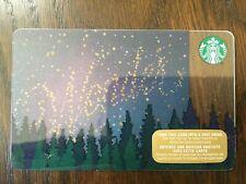 "Canada Series Starbucks ""WONDER 2015"" Gift Card - New No Value"