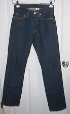Levis 501XX Blue Jeans 29x34 Button Fly 100% Cotton Nice! (Actual 27x33)