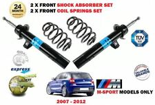 FOR BMW 1 SERIES M SPORT 2007-2012 2X FRONT SHOCK ABSORBERS + 2 X COIL SPRINGS