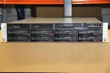 """Supermicro 2U Server X8DTN+-F 2 x X5650 6Core 48GB DDR3 LGA 1366 8 x 3,5"""" SC 825"""