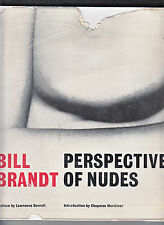 PERSPECTIVE OF NUDES-BILL BRANDT-1ST ED 1961-HB/DJ-GREAT CLASSIC PHOTOBOOK-VG+