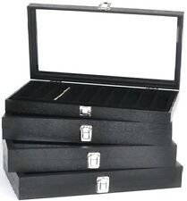 Glass Top Jewelry Box Glass Top Jewelry Tray Showcase Displays <Get Any Liner>