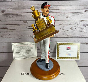 DALE EARNHARDT SEVEN TIME WINNER TROPHY STATUE BY CHARACTER COLLECTIBLES W/ BOX