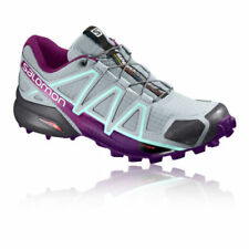 Scarpe sportive da donna traspirante grigi su strada