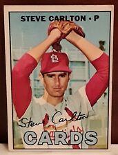 1967 Topps Steve Carlton-Good Condition-See Pics