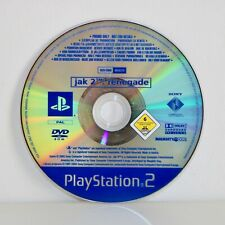 JAK II 2 RENEGADE (& AND DAXTER)  SONY PLAYSTATION 2 PS2 PROMO GAME