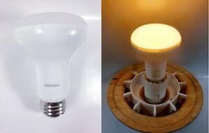 LOT OF 3 Philips LED Dimmable BR20 Light Bulb 450 Lumen 2700 Kelvin
