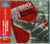 MARISS JANSONS-SHOSTAKOVICH:SYM. NOS.2 `TO OCTOBER` & 12 `THE...-JAPAN CD C68