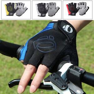 Sports Cycling Gloves Bike Bicycle Gel Pad Half Finger Bike Shockproof M-XL MTB