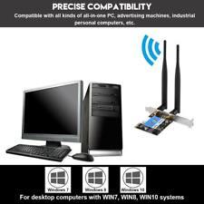 PCI-E Scheda di Rete Interne 433Mbps Dual Band 2.4G/5G+Bluetooth 4.0 per Desktop