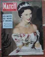 PARIS MATCH 487 Gelin Mont St Michel Fazilet Docker Kerguel