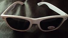 PINNACLE Vodka Promo Retro UV Eye Protection Sunglasses WHITE~DRINK RESPONSIBLY