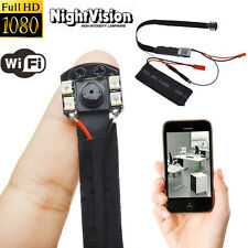Mini WIFI 1080P HD SPY Hidden Wireless Camera Night Vision Module Video Recorder