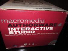 Macromedia authorware 4 interactive studio  upgrade