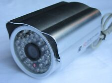 telecamera Videocamera infrarossi 48 LED 3.6mm Videosorveglianza PAL DC 12V ccd