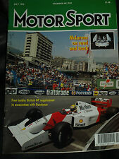 AYRTON SENNA v NIGEL MANSELL EPIC BATTLE MONACO GRAND PRIX 1992 GP CANADIAN F1