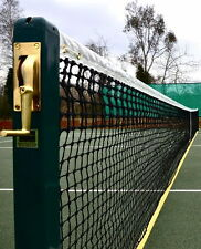 """Tennis Court Package 3"""" Square Edwards Wimbledon Posts + 2.5mm Net + Sleeves"""