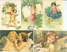 Lot of 100 Angel & Cupid Postcards  -  Factory Sealed.