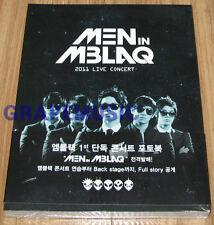 MBLAQ MEN IN MBLAQ 2011 LIVE CONCERT PHOTO BOOK PHOTOBOOK + DVD SEALED