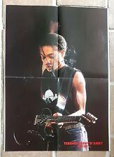 poster affiche revue magazine français Rock TERENCE TRENT D'ARBY 58x42cm