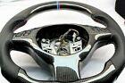 BMW E46 M3 / E39 M5 carbon fiber Steering Wheel / carbon fiber center trim