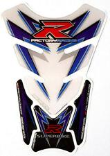 Tankpad Tankschutz Motorrad Suzuki GSXR 1000 750 600 Racing Blau Tuning R GSX-R