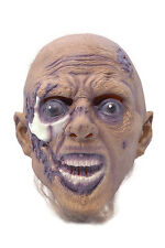 HALLOWEEN HORROR #GRAVE RISING CORPSE UNDEAD RUBBER MASK FANCY DRESS ACCESSORY