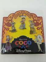 Coco Miguel Dante Disney Pin Trading 5 Pin Booster Pack