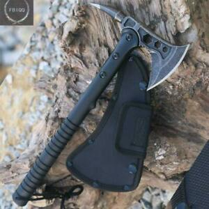 Outdoor Army Hunting Camping Survival Defense Tool Machete Axe Tomahawk Hatchet