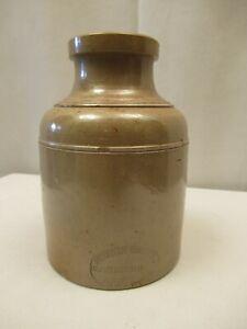 "Antique Stephen Green Lambeth Pottery Stoneware Crock 6"" C.1840 Collectibles """