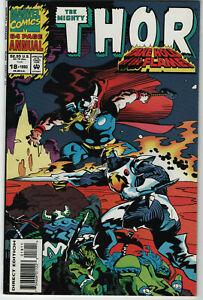 Thor Annual #18 1993 Marvel Comics 1st App of Female Lady Loki MCU Disney+ NM