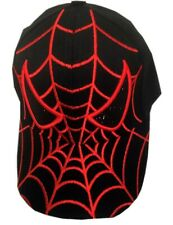 Kids Baseball Cap With Adjustable Spiderman Design