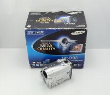 SAMSUNG VP-D93 videocamera in scatola MINI DV Videocamera Digitale Nastro