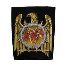Slayer Back Patch Golden Eagle schiena ricamate U.S. thrash metal Kerry King