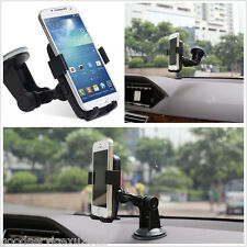 Mini 360° Rotatable Car Dashboard Sucker Mount Cradle Holder Support For iPhone