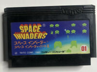 Famicom SPACE INVADERS Cartridge Only Nintendo TAITO 1985