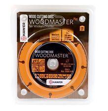 TechParts Woodmaster Plus Holztrennscheibe für Winkelschleifer 125 mm Wood Cut