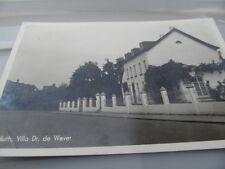 Nuth Dr de August Wever House Dated 1944 PHOTO   Netherlands  POSTCARD VINTAGE