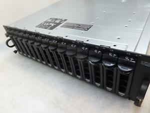 Dell PowerVault MD AMP01 SAS Storage Array / 2x controllers / 2x PSU}
