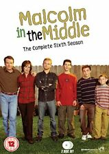 Malcolm in The Middle The Complete Series 6 - DVD Region 2 Shipp