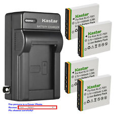 Kastar Battery Wall Charger for Kodak KLIC-7001 & Kodak EasyShare M340 Camera