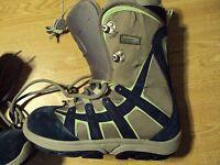 Burton US Womens Size 7 Snowboard Boots WMS Moto