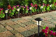 Solar Pathway Lights Garden Driveway 6 Pack LED Bronze Landscape Patio Lawn Yard