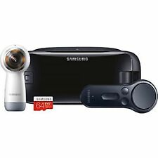 Samsung Gear 360 Camera With Controller & Headset 64gb VR Collection B
