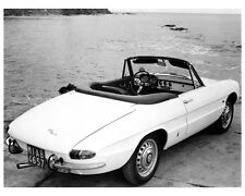 1966 Alfa Romeo 1600 Duetto Spider Factory Photo ca2142